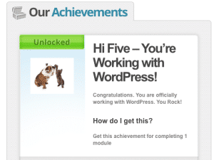 Using WP Achievements and WP Courseware for Gamification