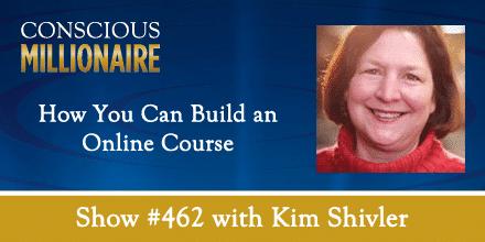 Kim Shivler appearance on Conscious Millionaire Podcast