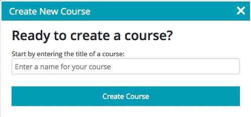 Screengrab of the LifterLMS Create a Course dialog box.